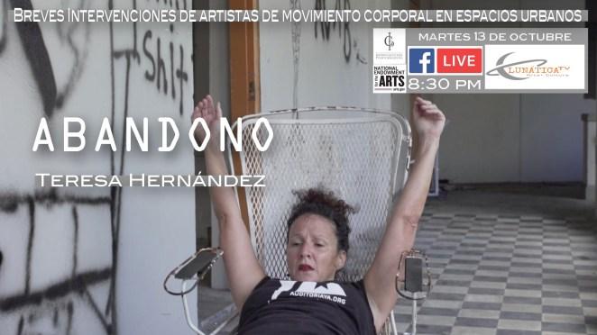 """La Artista Teresa Hernández interviene una escuela en """"Abandono"""""""